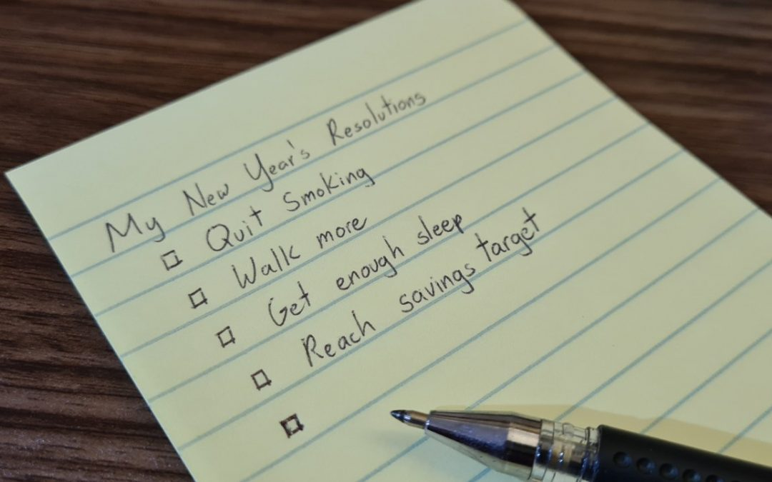 Why we suck at fulfilling our New Year's Resolutions      (and how to improve our chances of succeeding)